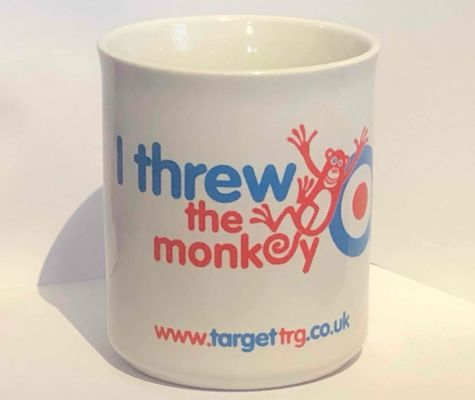 I Threw the Monkey Mug