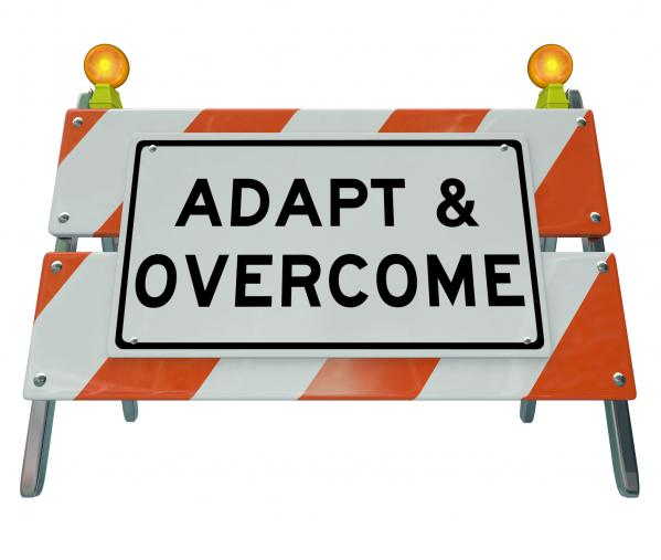 training blog - can you adapt and overcome?