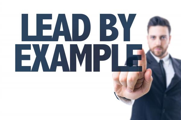 management blog - lead by example, like the captain