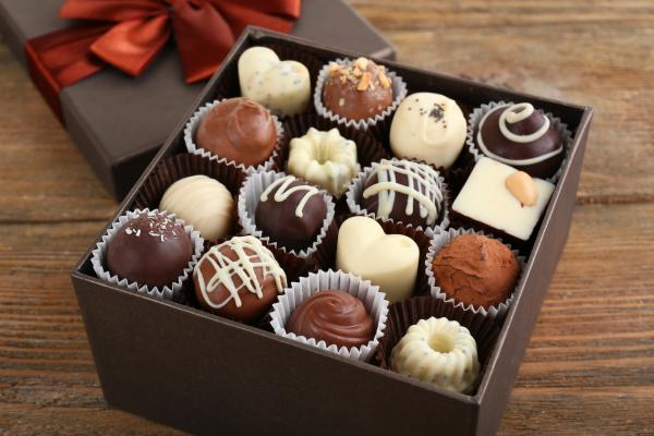 training blog - box of chocolates