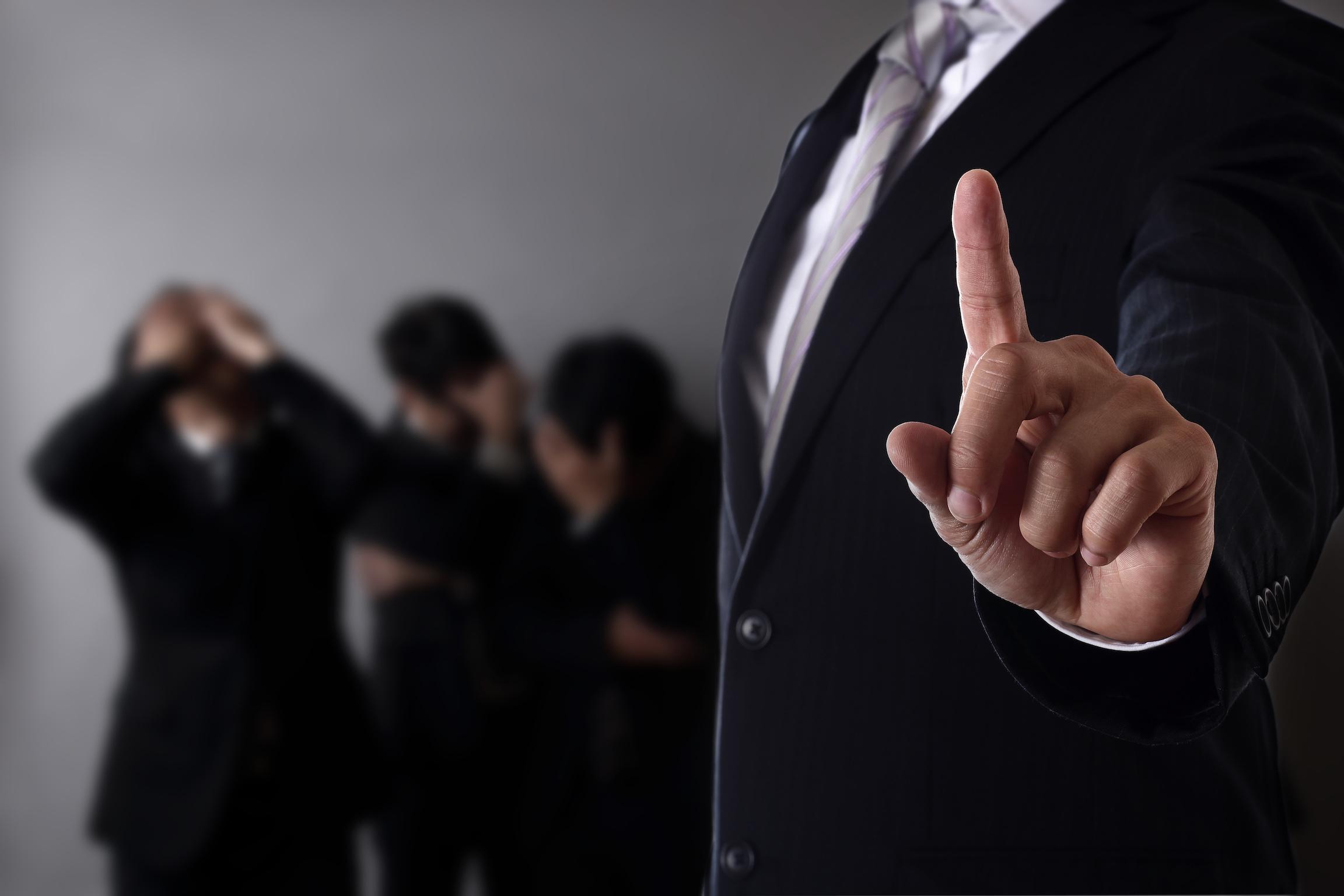 management blog - five common management blunders