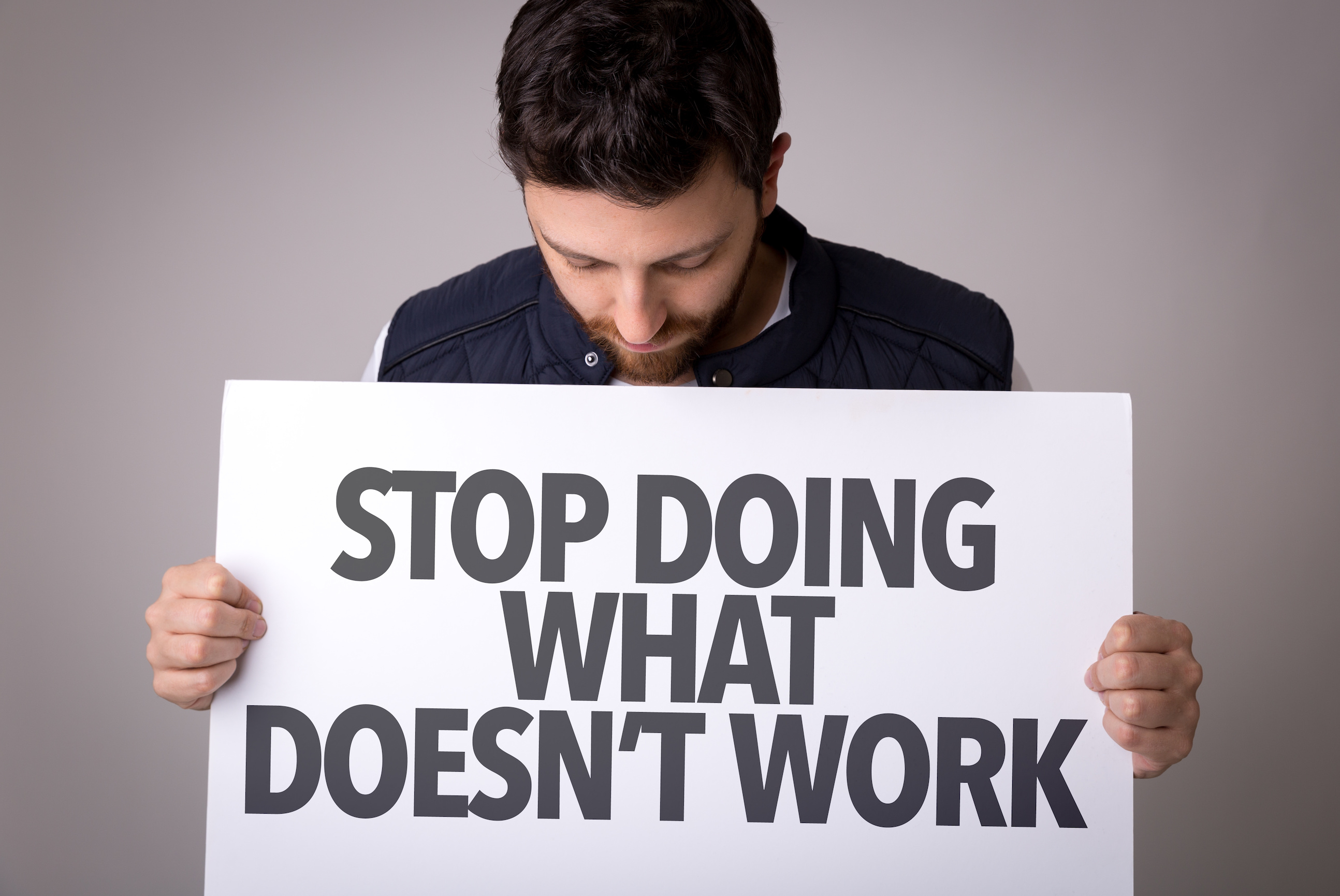 management blog - stop doing what doesn't work