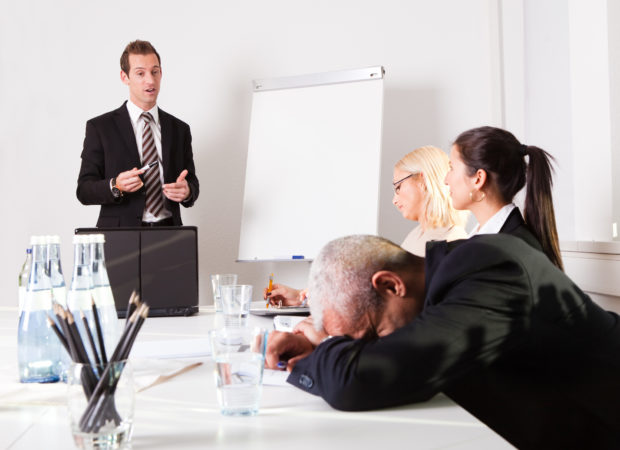 6 reasons managers fail at presentation delivery