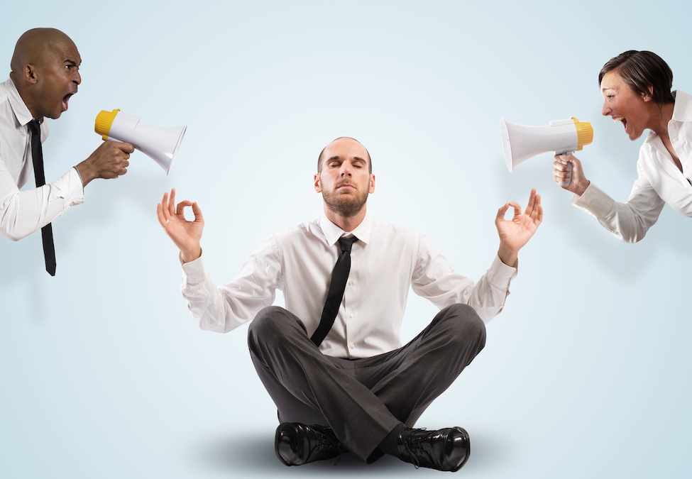 management blog - staying calm as a manager