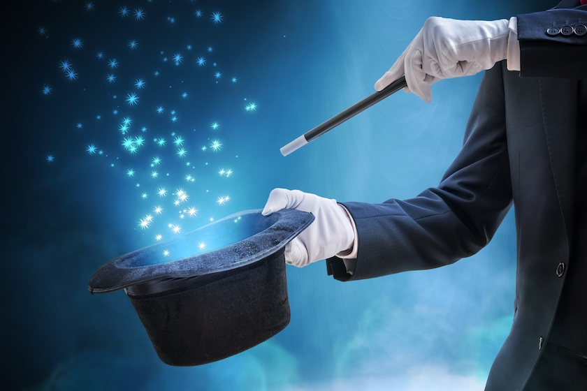 training - every good trainer uses these magic powers to make learning happen