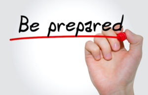 Fail to prepare - prepare to fail